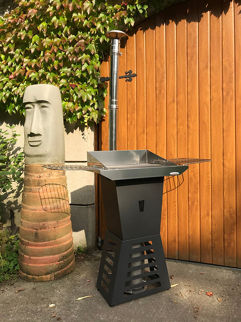 Wood Pellet Camping BBQ