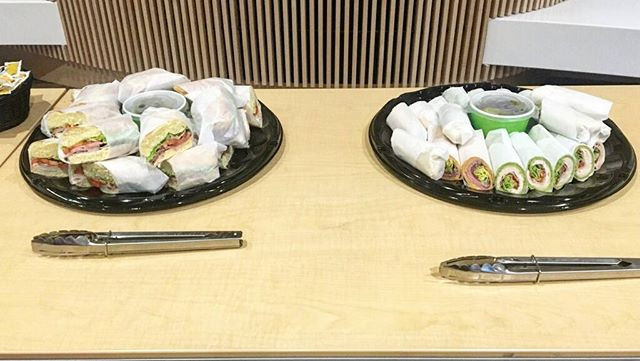Call us to cater your next meeting or ga