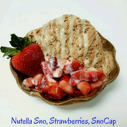 Nutella Sno, Strawberries, SnoCap.png