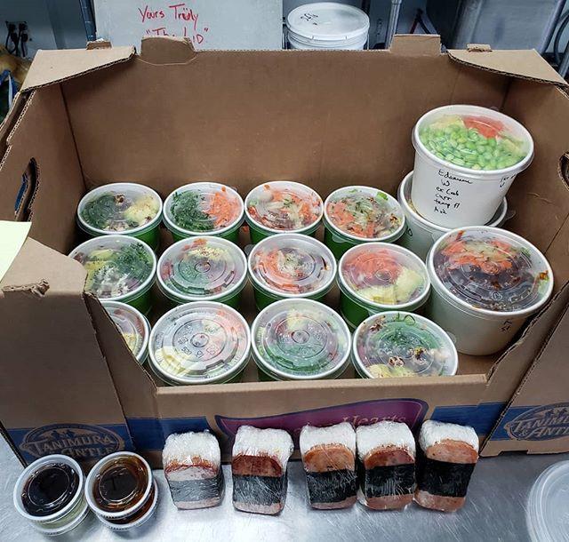 Lunch order served!
