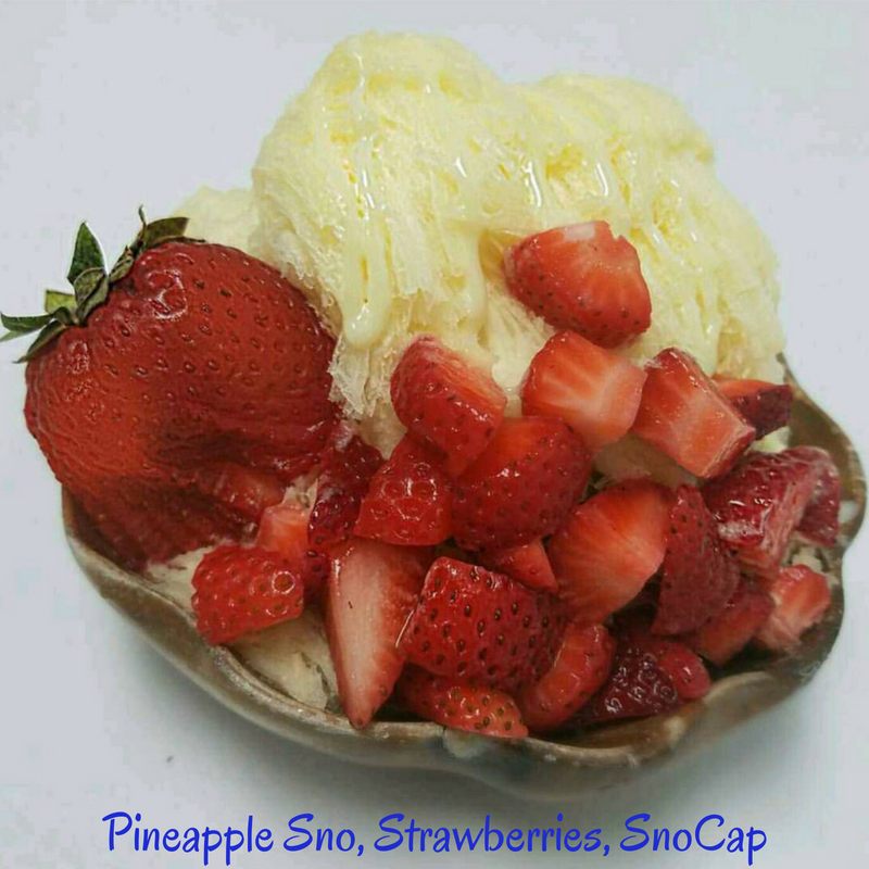 Pineapple Sno, Strawberries, SnoCap.png