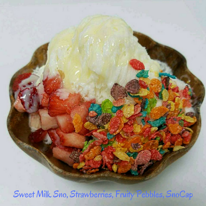 Sweet Milk Sno, Strawberries, Fruity Pebbles, SnoCap - Copy.png