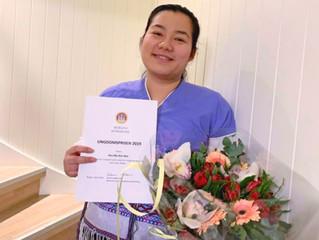 Hsa Mu Kar Dee tildelt Bergen Kommunes Ungdomspris