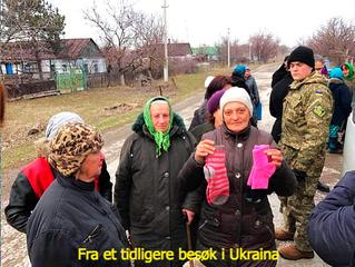 Nytt besøk til krigssonen i Øst-Ukraina