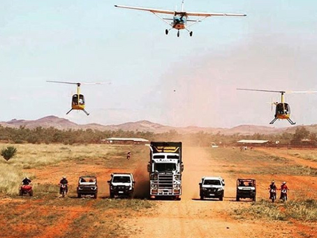 Aviation on cattle stations - legends & legacies