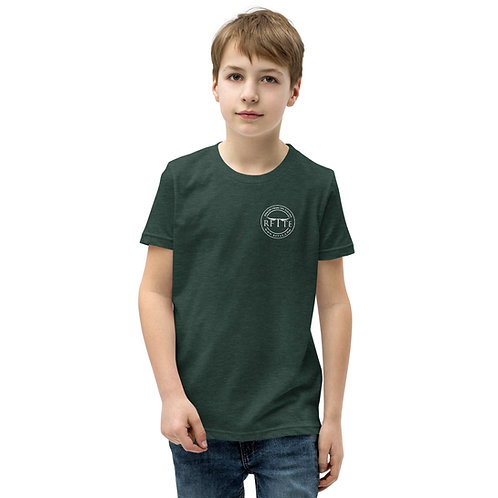 RFTTE Youth Staple Tee | Round Logo Front & Back
