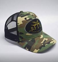 RFTTE Camo Trucker Cap