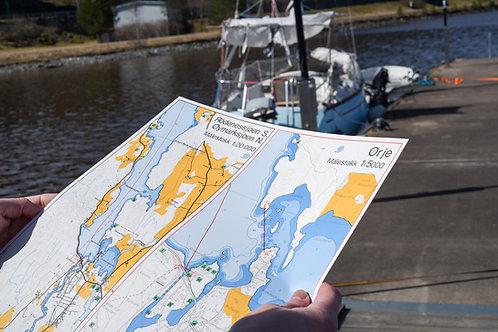 Båtsport- og fritidskart Haldenkanalen