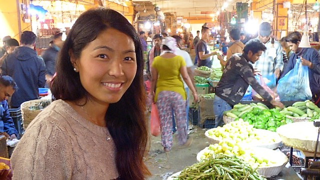 Bimala Goes to Kathmandu Market
