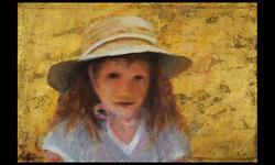 Gretchen in Summer Hat