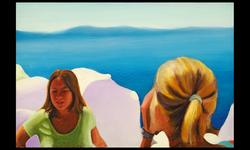 Santorini Girls