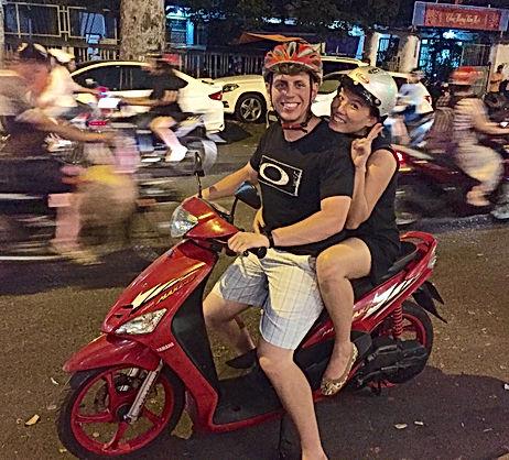 Victor & Lua Scarlata in Vietnam