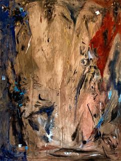 Love U 2 / Mixed Media on Canvas / 130 x 97 cm / 2019