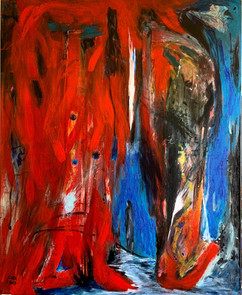 My Way / Acrylic on Canvas / 100 x 80 cm / 2019