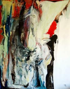 Sueño / Mixed Media on canvas / 146 x 115 cm / 2019