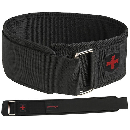 "Harbinger | 4"" Nylon Belt"