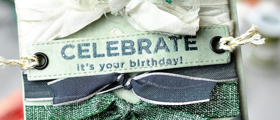 "Bänderkarte ""Celebrate"""