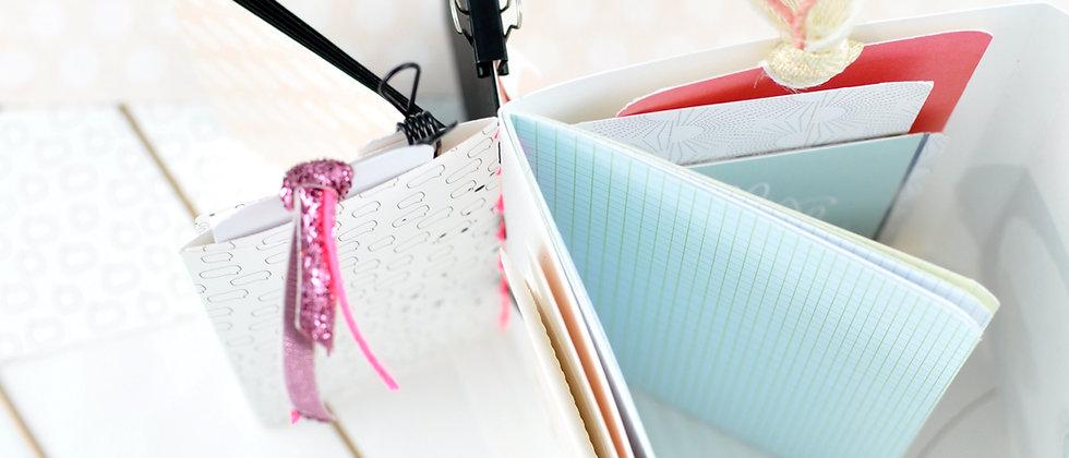 Schnittdatei zu 3 in 1 - Kombi-Notizbuch