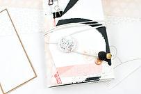 Scrapbooking Notizbuch