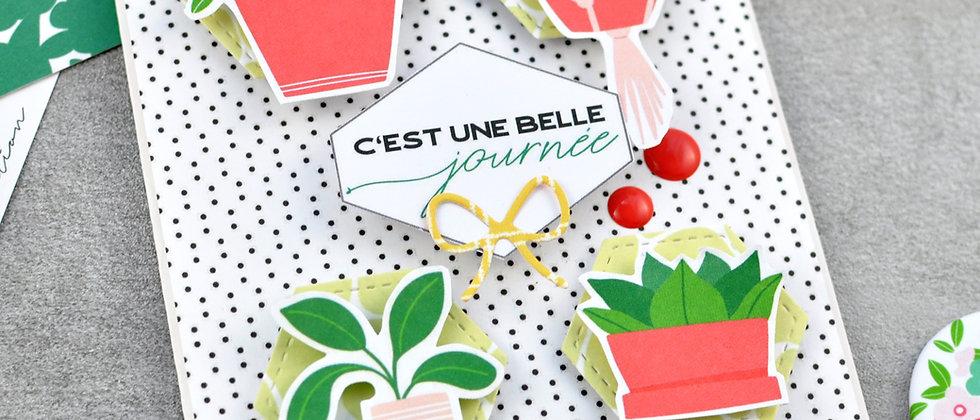 """""""Belle Journée"""" Karte"""
