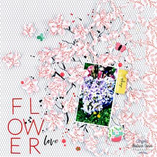 Kirschblüten Layout