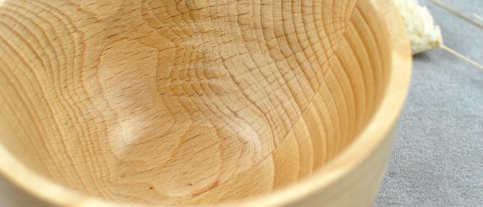 gedrechselte Holzschale aus Buche