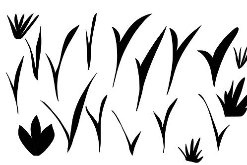 Long leaves image file