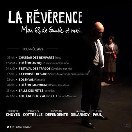 Tournée de fin d'année avec La Révérence...