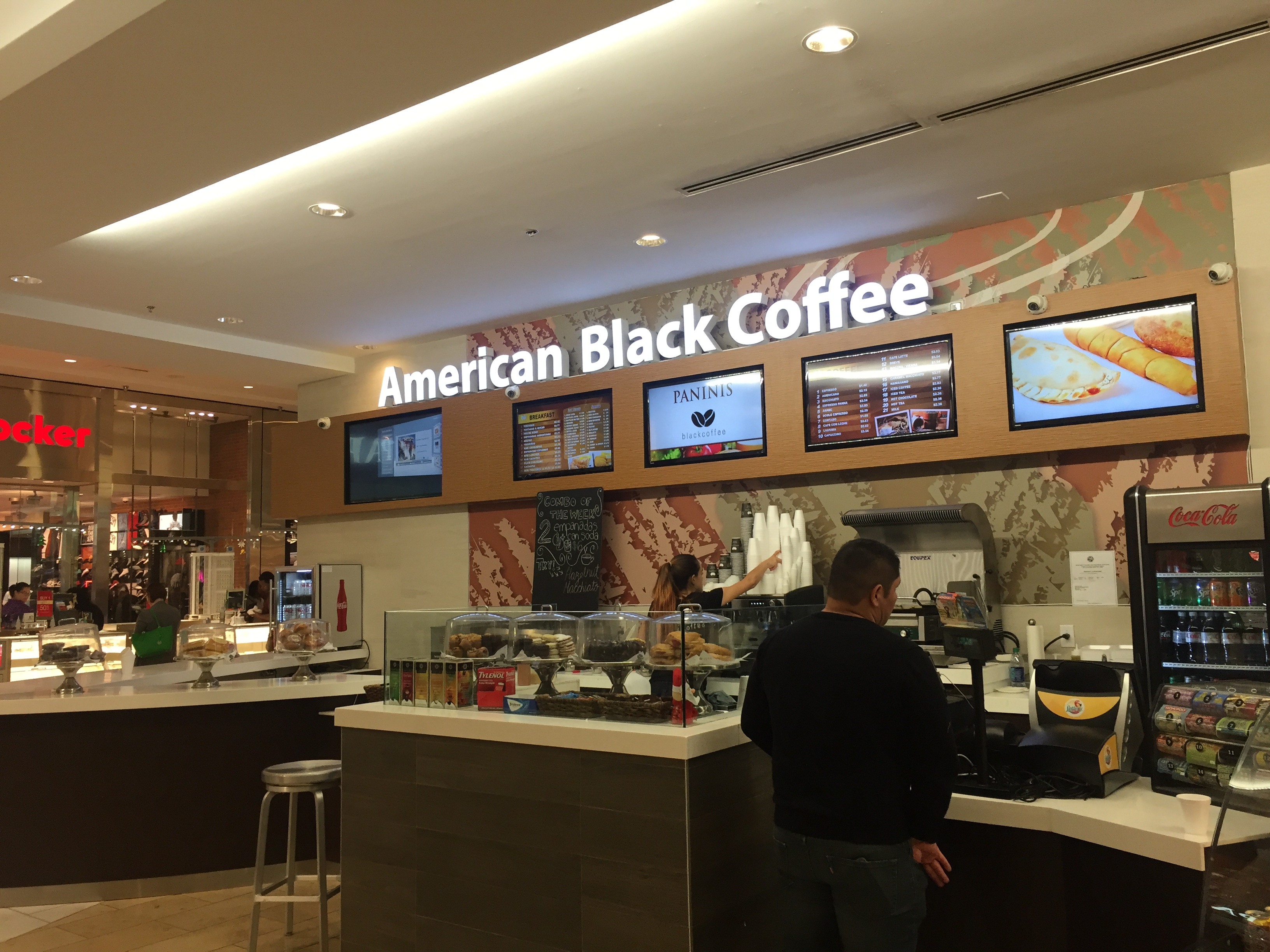 American Black Coffee, Broward Mall