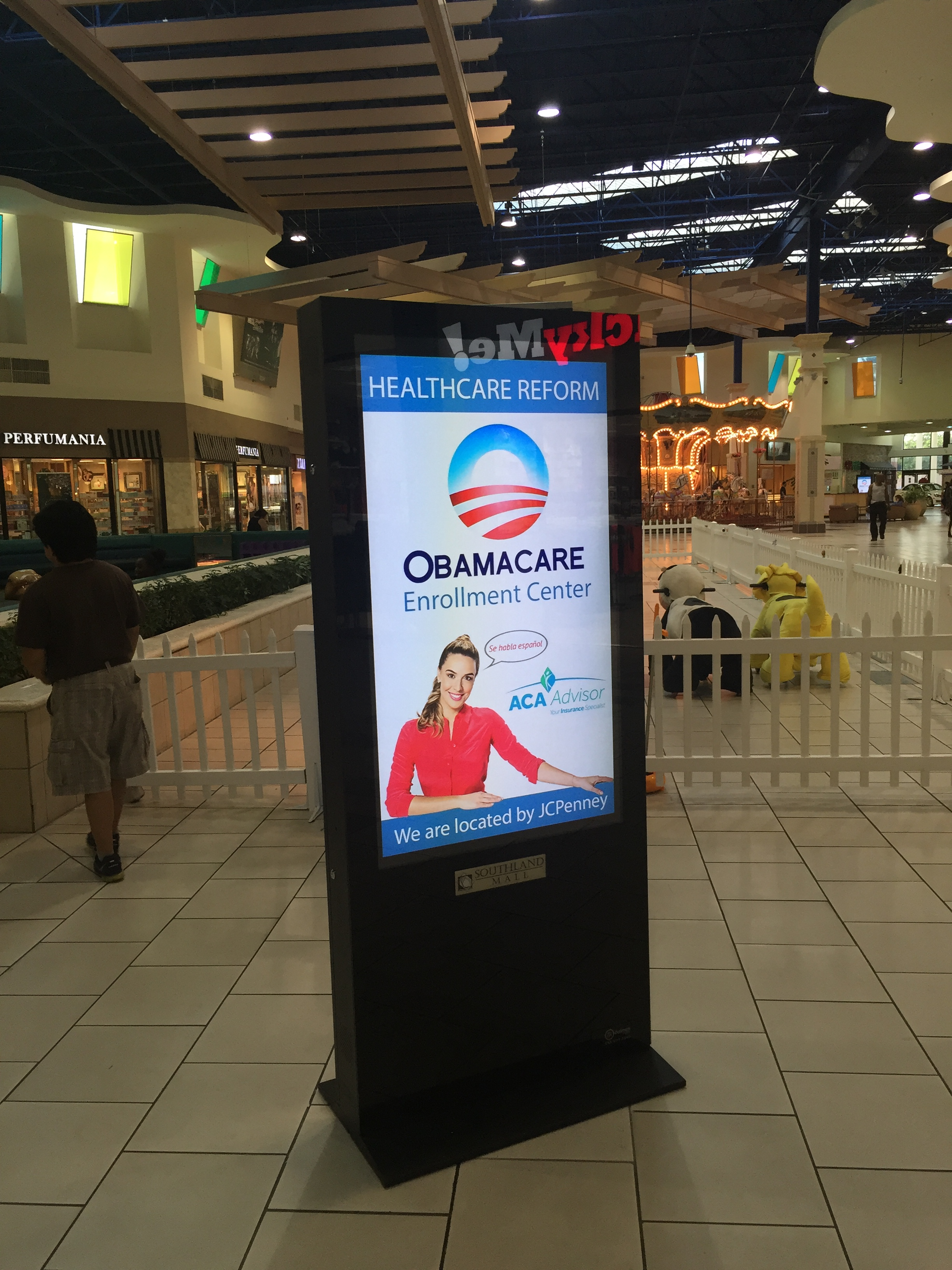 Southland Mall Digital Standees