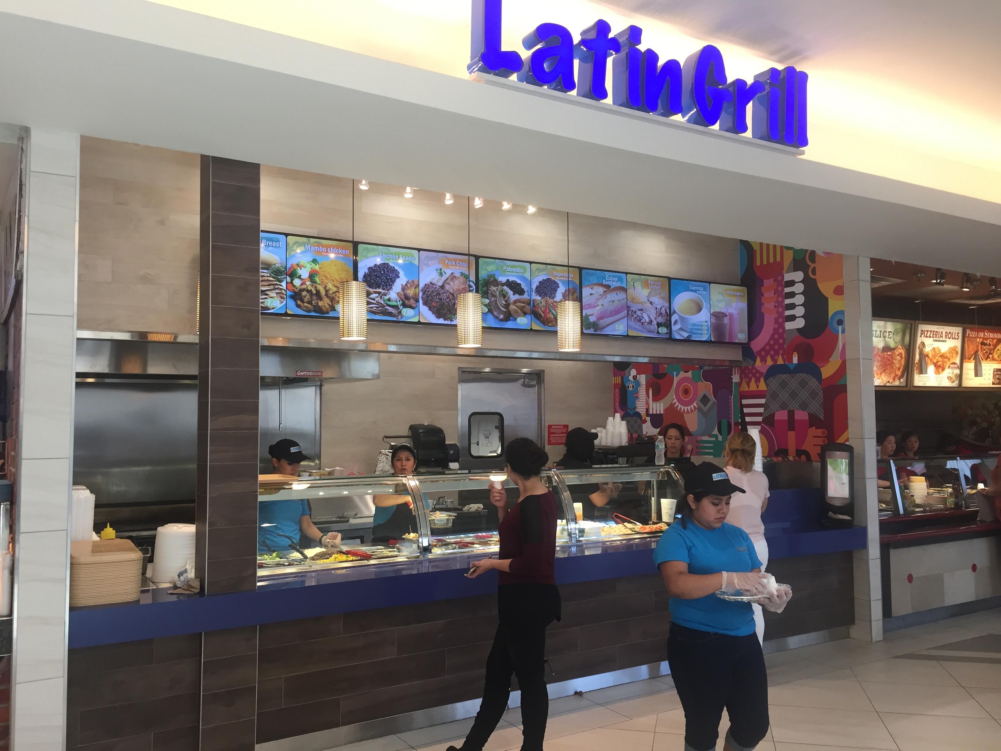 Latin Grill, Dadeland Mall, Miami