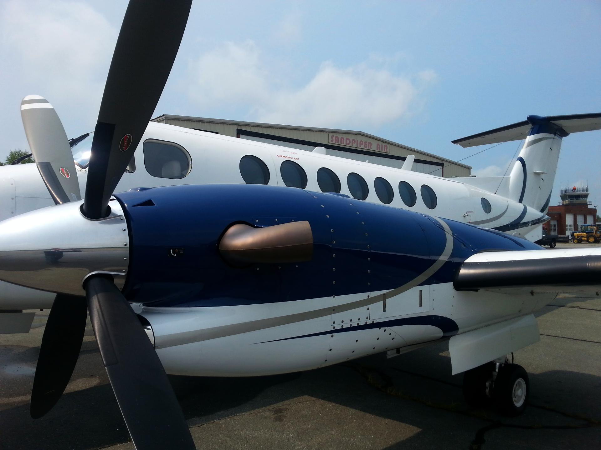 King Air at Sandpiper Air