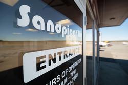 Passenger terminal at Sandpiper Air