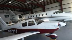 Hangar at Sandpiper Air