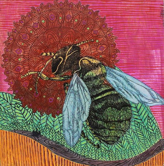 the bee mandala