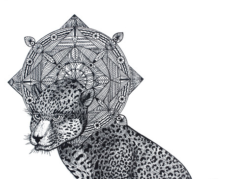 """Leopard Mandala"""