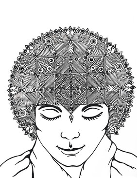 """""""Third-Eye Mandala"""""""