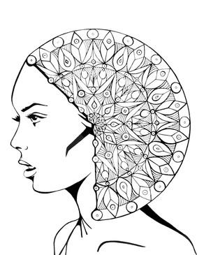 """""""The mandala in her head"""""""