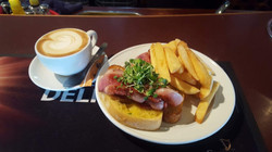 Perfect Brunch - bacon & coffee