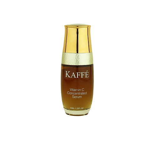 Vitamin C concentrated serum Infused with 100% Organic Kona Coffee