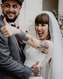 Tattooed Couple 😍 💫Consuelo & Cesar💫_