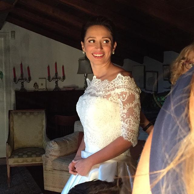 Your smile is precious!! #weddingmakeup