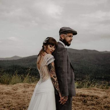 Tattooed Couple 😍 💫Consuelo & Cesar💫_