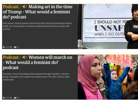 30 Days of FIERCE, Day 15; Podcast - What Would A Feminist Do?