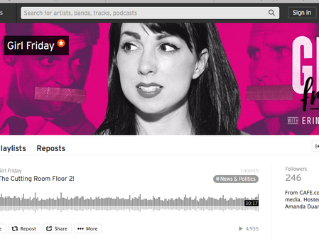30 Days of FIERCE, Day 12; Podcast - Girl Friday
