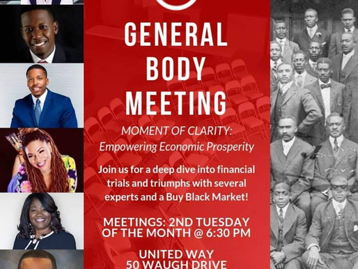 SOCIETY 23 founder, Matasha LaQuinn is presenting next week at the Houston Area Urban League of Youn