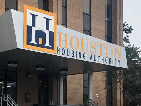 Houston Housing Authority partnership!