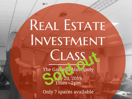 Investment class - SOLD OUT