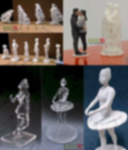 Statuine 3d Cake topper Sposi 3d MiniMe busti 3d action figure 3d - Easy 3D Stampa 3d Palermo