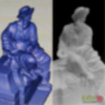 Scansioni 3d e riproduzioni 3d Repliche e copie 3d Statue 3d Busti 3d- Easy 3D Shop Lab Stampa 3d Palermo